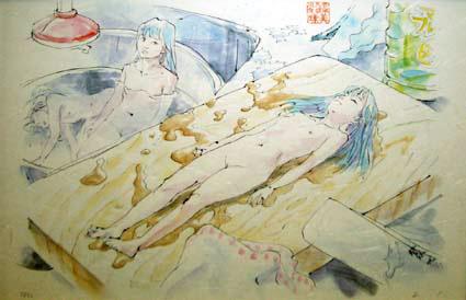 会田誠「まな板の美味ちゃん」